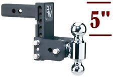 "B&W Tow & Stow Double Ball Adjustable Receiver Hitch 2"" & 2-5/16"", TS10037B"