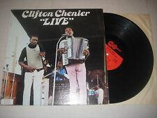 Clifton Chenier - Live   Vinyl  LP