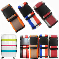 Assorted Colour Luggage Strap Bag Adjustable Suitcase Name Safety Identify x1