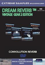 Xtreme samples Dream Reverb vintage Gear 2 HD (Reverb impulse response Library)