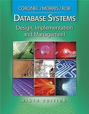Database Systems by Carlos Coronel