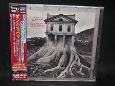 BON JOVI This House Is Not For Sale + 6 JAPAN SHM CD + DVD Frankie And The Knock