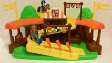 Fisher-price Little People Mike The Knight Klip Klop Arena Playset w/Evie EUC