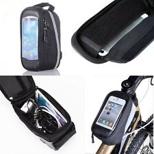 NEW Bicycle Cycling Bike Frame Front Tube Waterproof Mobile Phone Bag Holder