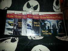 Lone Wolf And Cub COMPLETE 6 Films Laserdisc LD AnimEgo Samurai Cinema