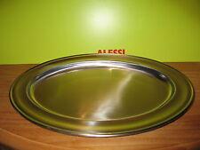 ALESSI *NEW* Plat inox satiné bord brillant 45cm E11045