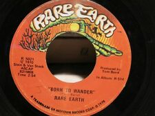 ++RARE EARTH born to wander/here comes the night SP 1970 RARE VG++
