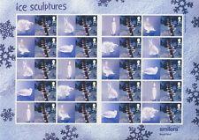 GB - 2003 SMILERS BOGEN LS15 LS16 - ICE SCULPTURES CHRISTMAS WEIHNACHTEN 2164 65