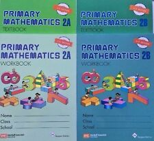 Singapore Math® Primary Mathematics 2A & 2B Text and Workbook Set US Edition New