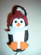 Bath and Body Works Pocketbac Winter Holiday Penguin SET OF 5  NEW