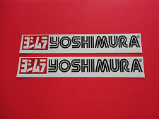 "Two - 10"" Yoshimura sticker decals.  Genuine and new."