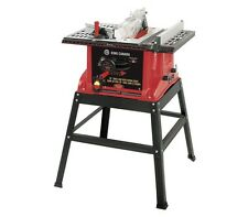 "King Canada Tools KC-5005R 10"" TABLE SAW WITH STAND AND RIVING KNIFE 15 amps NEW"