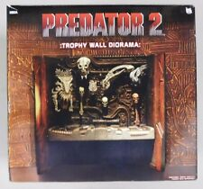 NECA Reel Toys Predator 2 TROPHY WALL DIORAMA - Action Figure Playset In Box