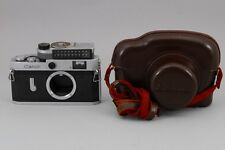 [Near Mint] Canon model P Rangefinder Film Camera w/ Meter, Case from Japan