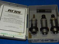 RCBS CARBIDE PISTOL DIE SET 18915 45 ACP AR GAP AUTO OFF DILLON RL550 PRESS