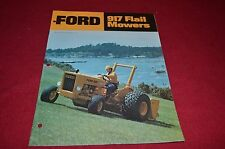 Ford Tractor 917 Flail Mower Dealer's Brochure DCPA2