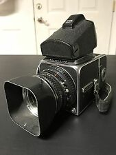 Hasselblad 500C/M Film Camera With Lens And TTL Spot Viewfinder