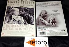 EL MANANTIAL Y LA DONCELLA INGMAR BERGMAN DVD Español Edicion Remasterizada