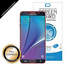 3x Full Screen Coverage Clear Screen Protector Cover for Samsung Galaxy Note 5