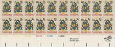 block of 20 CHRISTMAS TREE / NEEDLEPOINT stamps - Scott #1508 *LOW PRICE* MNH 8c