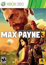 Max Payne 3 Rockstar 2 Disc set - XBOX 360 Complete