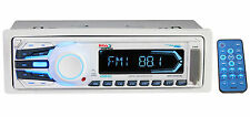 Boss MR1306UA Marine Digital Media Stereo Receiver w USB SD MP3, Aux AM/FM Radio