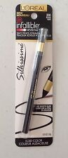 Loreal Infallible Never FAIL Silky Pencil Eyeliner Silkissime #200 Black