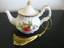 Royal Albert Miniature Old Country Roses Tea Pot