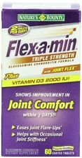 Nature's Bounty Flex-A-Min Triple Strength  60 Ct Collectible Exp 6/16