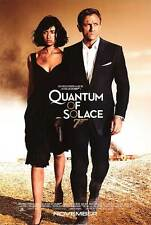 QUANTUM OF SOLACE MOVIE POSTER 2 Sided ORIGINAL FINAL 27x40