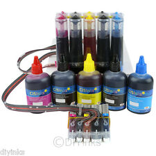 CISS & Ink Set For Canon PGI-250 CLI-251 PIXMA MX722 MX922 iP7220 iX6820 CISS