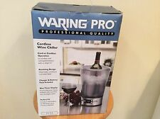 brand new waring pro cordless wine chiller