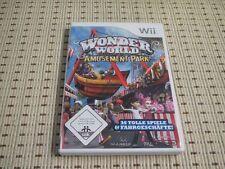 Wonder World Amusement Park für Nintendo Wii und Wii U *OVP*
