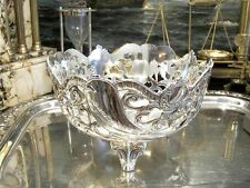 Openwork Silver Plated Fruit Bowl Centerpiece Vintage Antique Classy Gift
