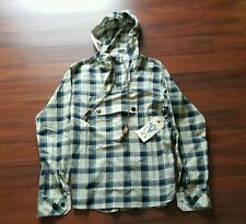 Woolrich Woolen Mills Mark McNairy, plaid Anorak, size Small, Spring/Summer '15