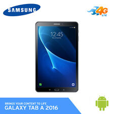 "Samsung Galaxy Tab A SM-T585 10.1"" 32GB Tablet Wi-Fi + 4G LTE 2016 [ Black ]"