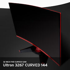 "32"" Hansung Ultron 3267 Curved R1800 Full HD 1920x1080 144Hz PVA Gaming Monitor"