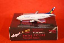 NEW HERPA WINGS 500333 BOEING 737-300 PHILIPPINE AIRLINES 1:500 SCALE NIB MIB