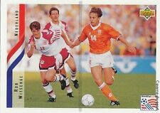 N°145 ROB WITSCHGE NETHERLANDS TRADING CARDS UPPER DECK WORLD CUP USA 1994