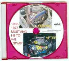 "1965 1966 1967 -73 Ford Mustang L6 to 302 351 V8 Engine Swap ""How to"" Video  DVD"