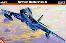 HAWKER HUNTER F MK 6 (RAF, BELGIAN & DUTCH AF MKGS)  1/72 MASTERCRAFT