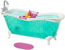 Barbie Story Starter Bathtub Playset Doll House Bathroom Furniture Girl Dolls