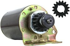 NEW STARTER MOTOR JOHN DEERE TRACTOR 111 111H L118 L120 WITH FREE GEAR 494198