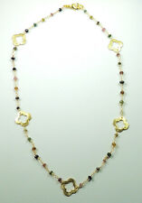 handcrafted  Fancy Multicolor Tourmaline  Necklace