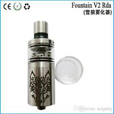 Fountain 5ml Snow Wolf Tank V2 RTA Atomizer Mechanical mods vaporizer RDA Steel.