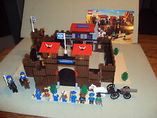 Lego WESTERN Set 6769 FORT LEGOREDO From 1996 RARE 100% Complete Retired Cowboy