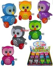 Owl wind up toys 12pcs Set bulk Kids Wholesale Fun Birthday Party Favors Novelty