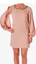 Elizabeth & James Embellished Linvall Tunic Beige Women's Size Small NWT $395