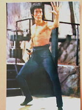 PHOTO COLLECTION BRUCE LEE N° 580 - OPERATION DRAGON ENTER THE DRAGON BRUCE LEE