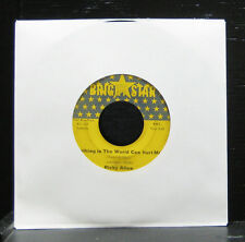 "Ricky Allen - Nothing In The World Can Hurt Me VG 7"" Vinyl 45 Bright Star BS 147"